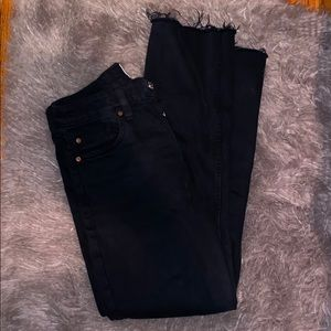 TRF by Zara straight leg Black jeans
